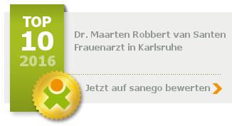 Dr. med. Maarten Robbert van Santen, von sanego empfohlen